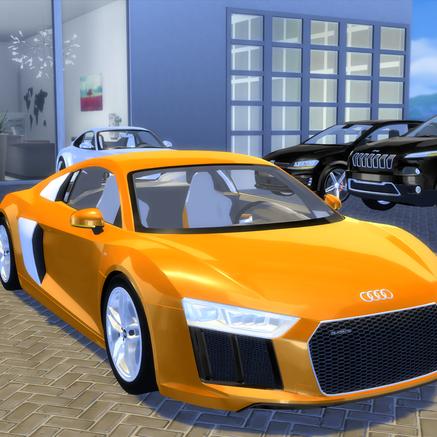 Audi R8 5.2 TFSI V10 2016