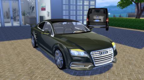 Audi R7 Concept Coupé