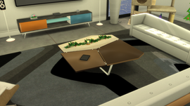"OceanRAZR Design Coffee Table ""Patches"""