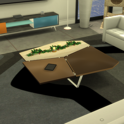 """OceanRAZR Design Coffee Table """"Patches"""""""