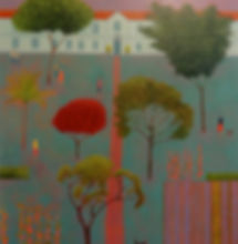 The Lavender Garden.acrylic.110x120cm.jp