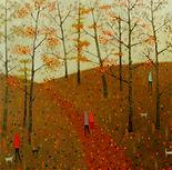 Forest path.acrylic.80x80cm..jpg
