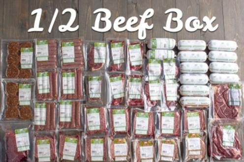 Grass fed beef  (1/2=300 lbs)