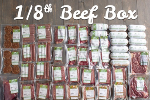 Grass Fed Beef - 1/8 beef = @75 lbs-dressed weight