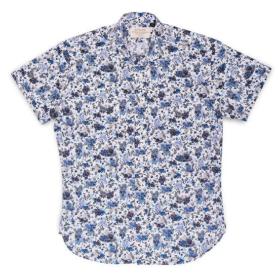 Lachlin.  Blue and White Floral