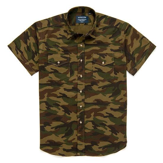 Alan.  Camouflage Shortsleeve.