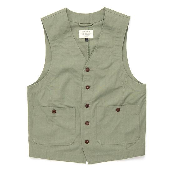 Utility Vest. Olive.