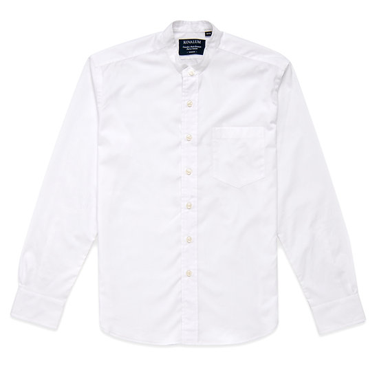Robert.  Grandad Shirt in Lightweight Cotton.