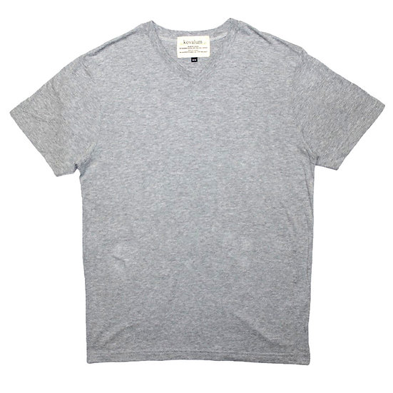 M1 T-Shirt.  Bamboo and Organic Cotton. Grey.