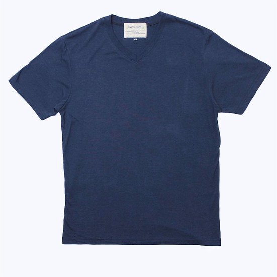 M1 T-Shirt.  Bamboo and Organic Cotton. Navy.