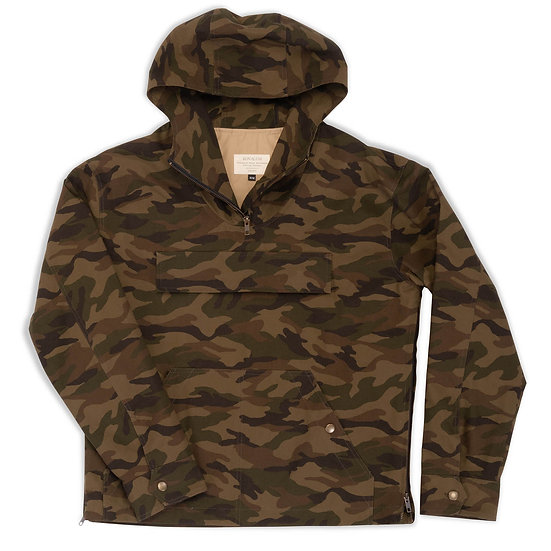 Archer.  Anorak in Ripstop Cotton in Camouflage.