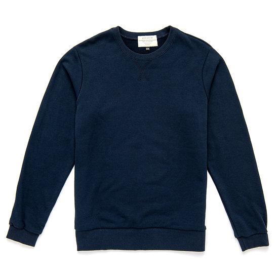 Alton Sweatshirt.  Navy. Grey. Black. Red.