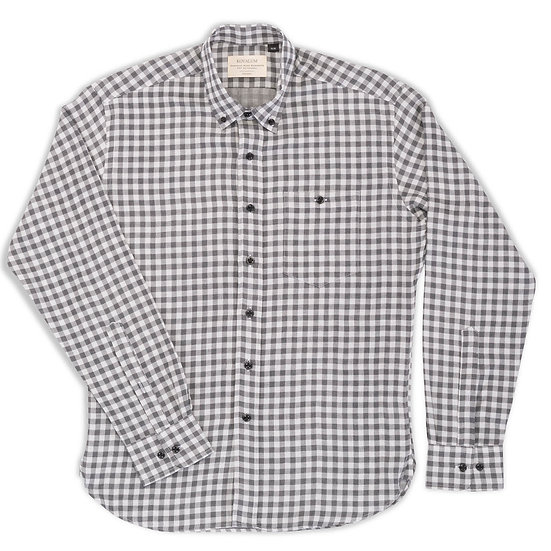 Hector.  Grey and Grey Gingham.