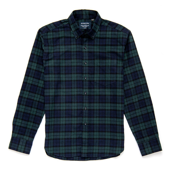 Tommy. Black Watch Tartan Flannel