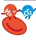 oxygenated hemoglobin