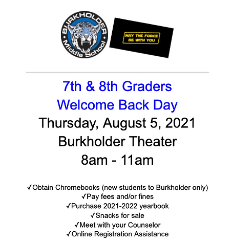 Picture 7 & 8 Welcome Back Day August 2021.png