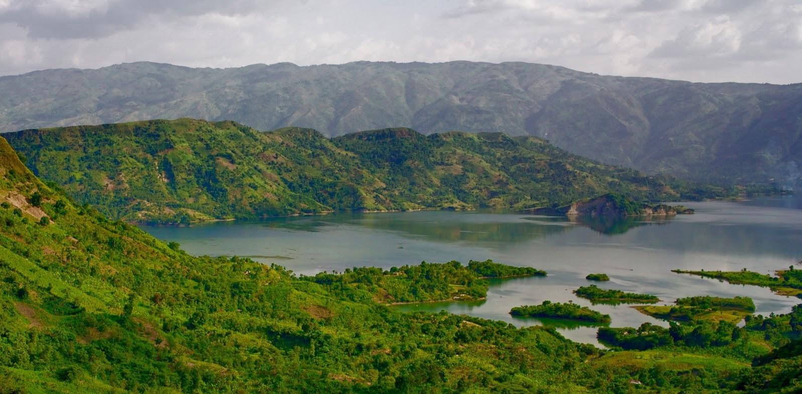Lake Peligre, Haiti.