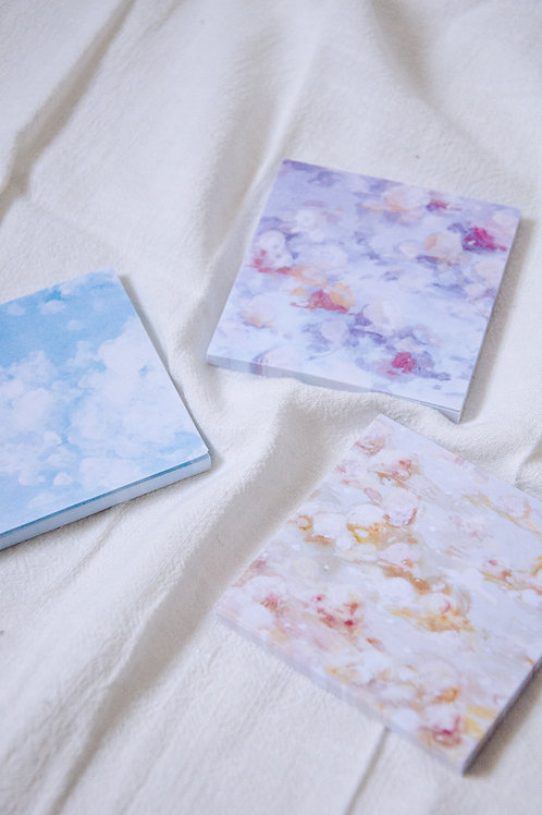 PAINTED SKIES STICKY NOTE SET