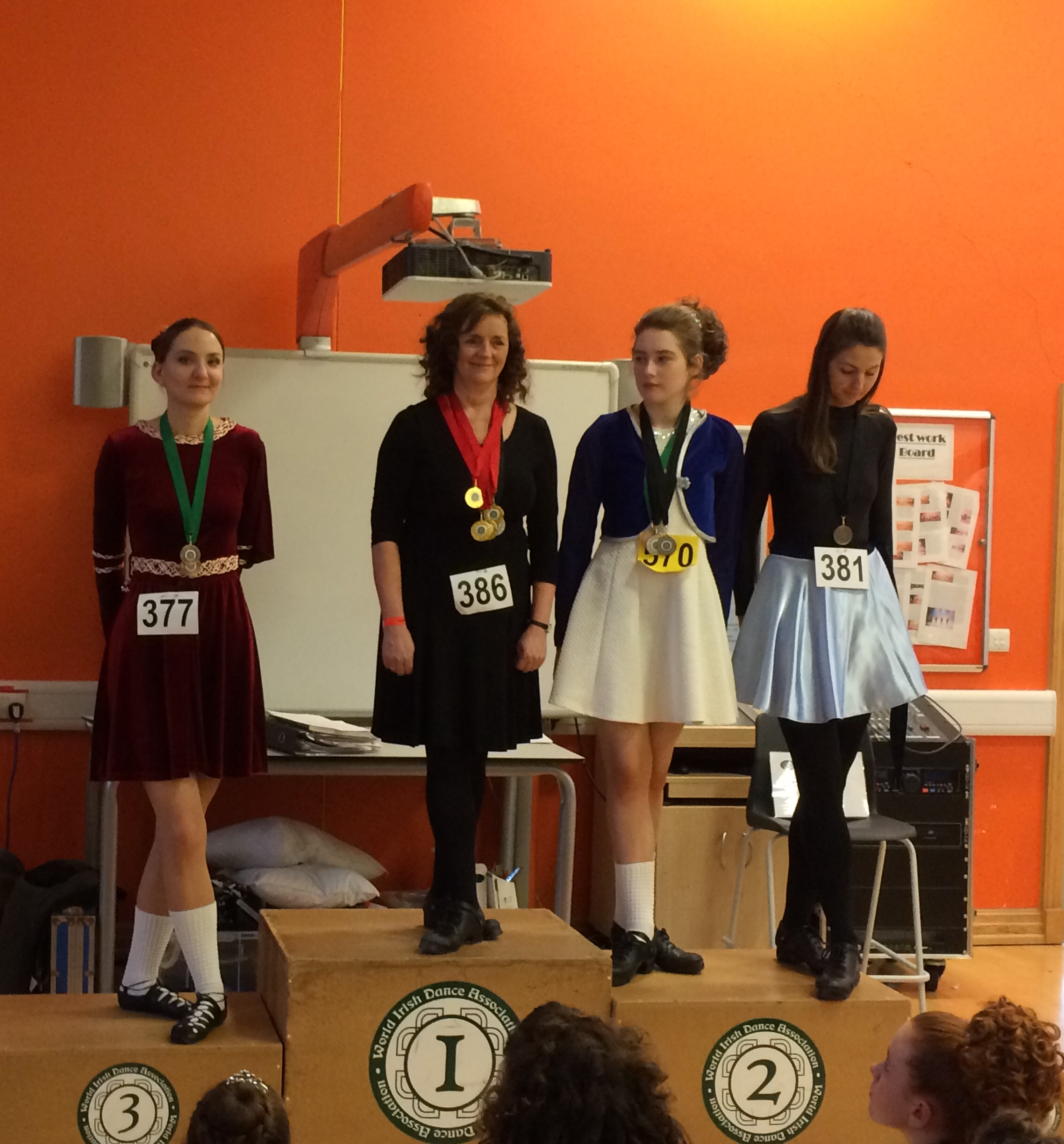 Eithne 1st Place Swindon Feis