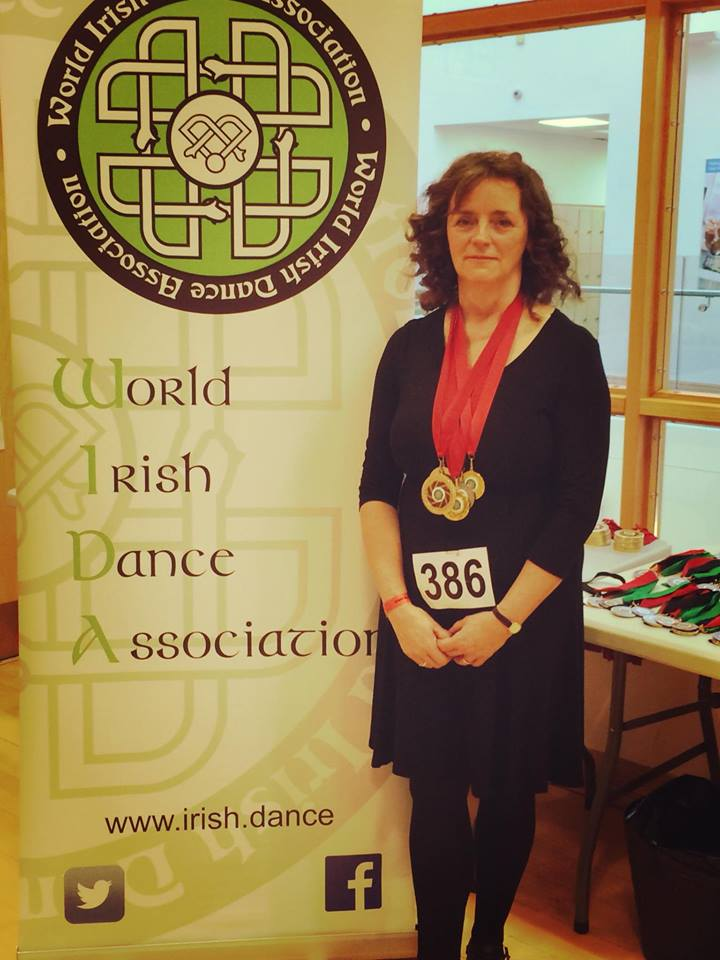 Eithne at the Swindon Feis