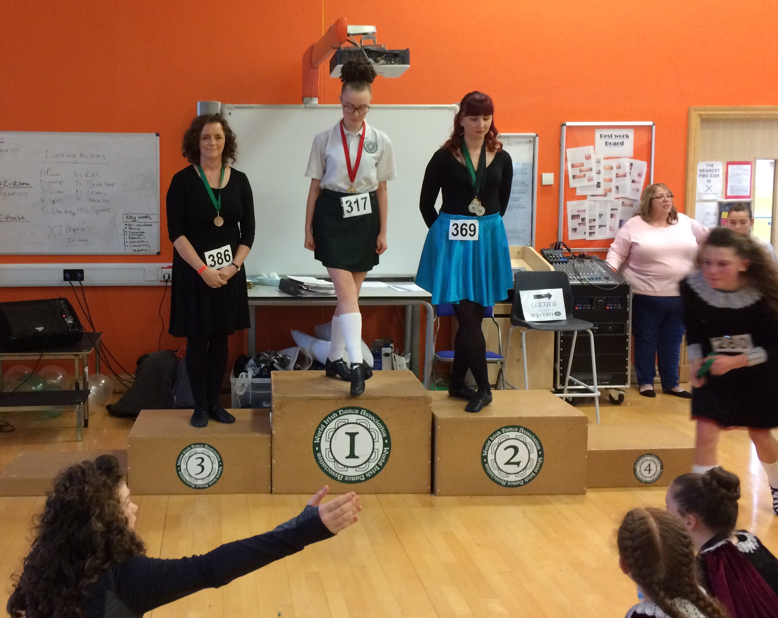 Eithne 3rd Place Swindon Feis