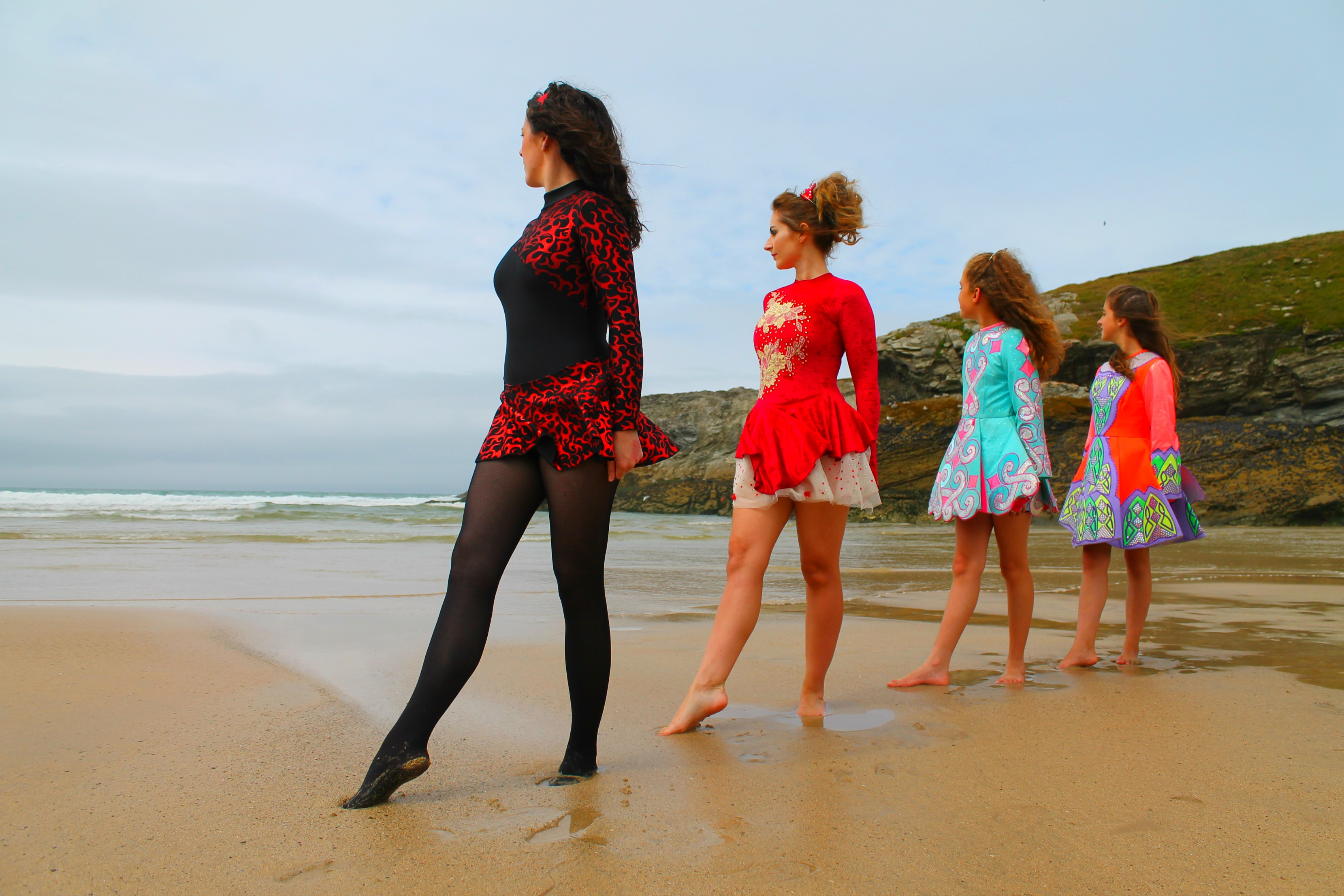 Porth beach Irish Dancers