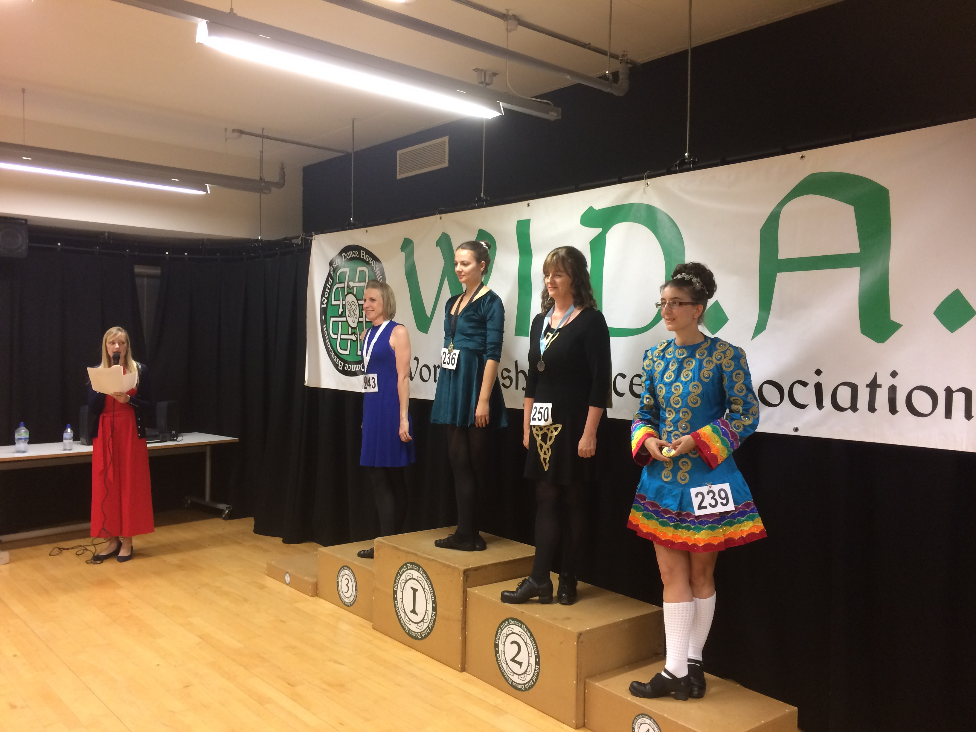 Eithne 2nd in Open Reel