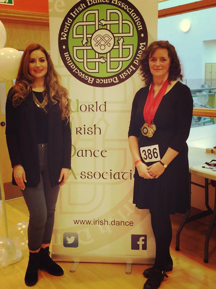 Eithne and I at the Swindon Feis
