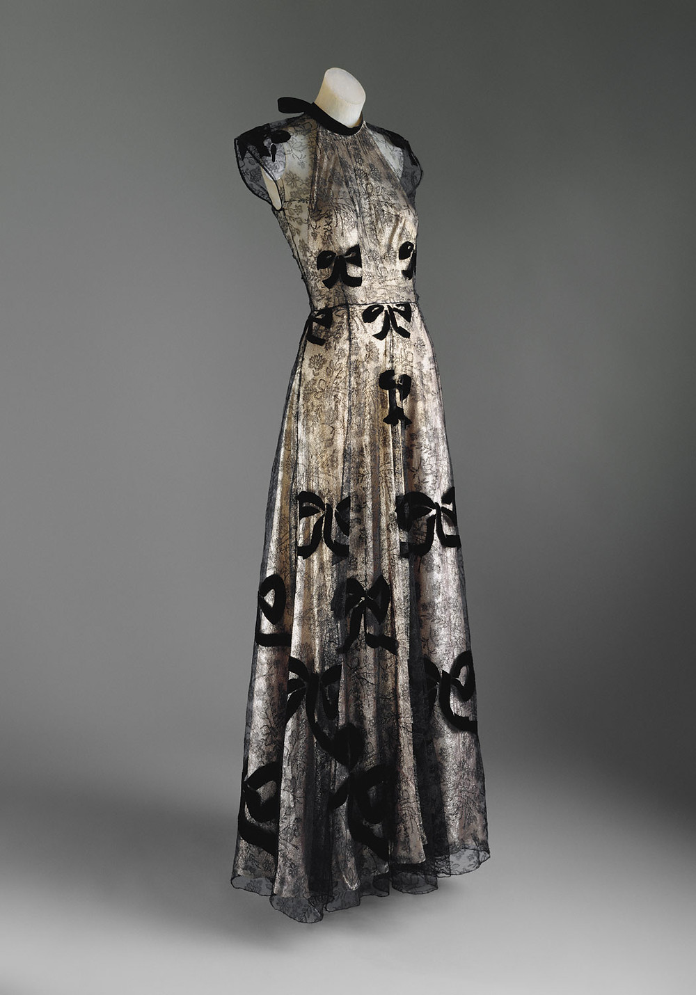 from The Met, a Vionnette ball gown from 1939.