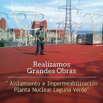 Poliuretano en Planta Nuclear