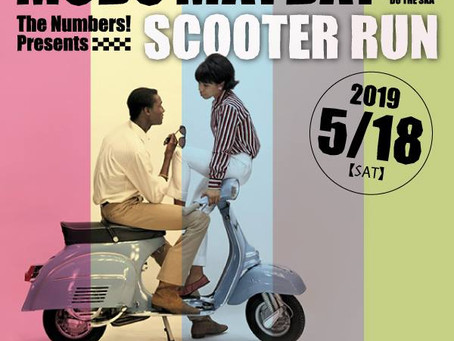 SCOOTER RUN~MODS MAYDAY JAPAN 2019