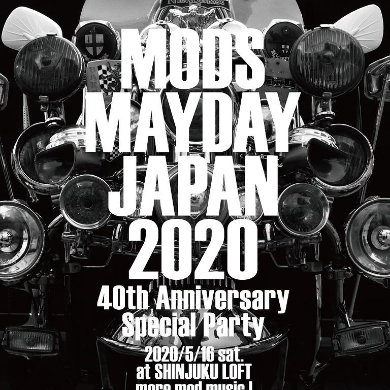 MODS MAYDAY JAPAN 2020