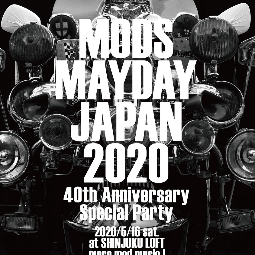 MODS MAYDAY JAPAN 2020