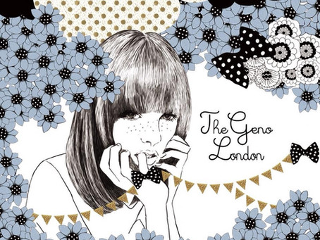 【THE GENO LONDON】7inchシングル 12月24日発売開始