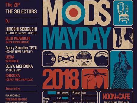 OSAKA MODS MAYDAY 2018