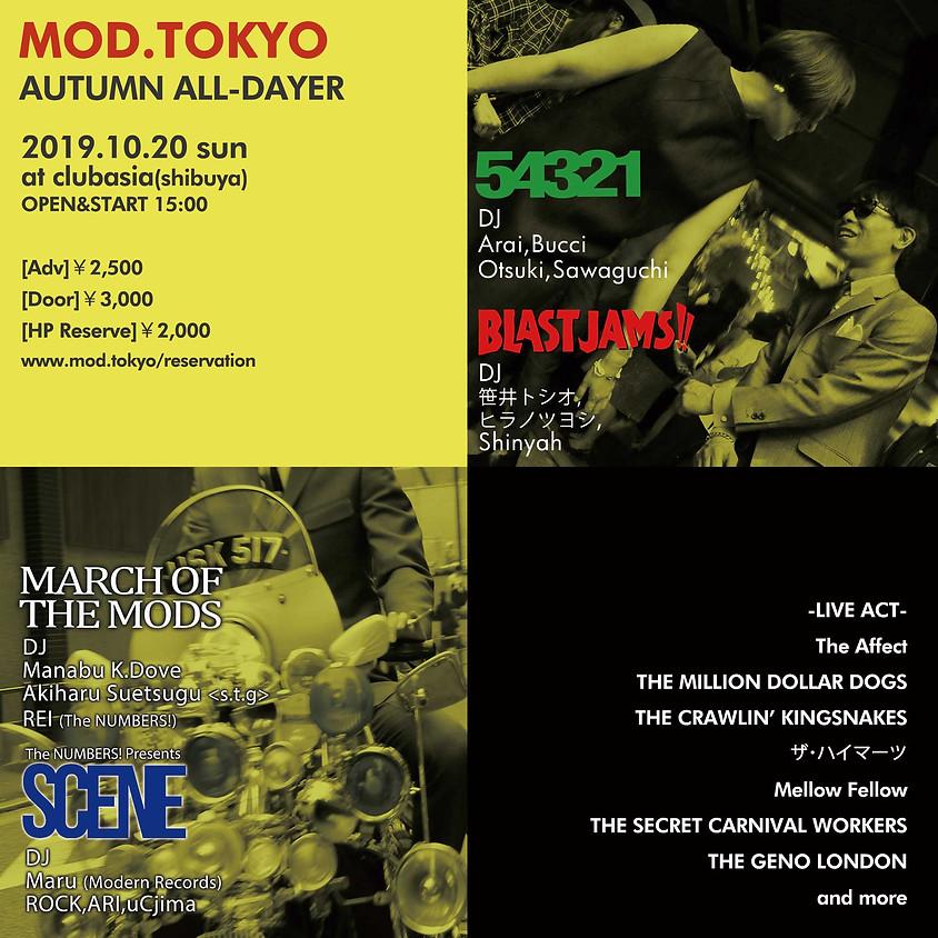 MOD.TOKYO~AUTUMN ALL-DAYER~