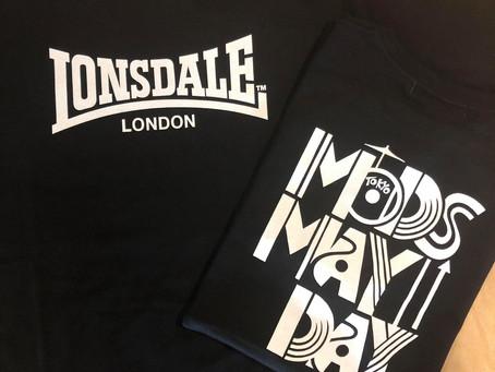 【プレゼントキャンペーン】MODS MAYDAY×LONSDALE コラボTシャツ