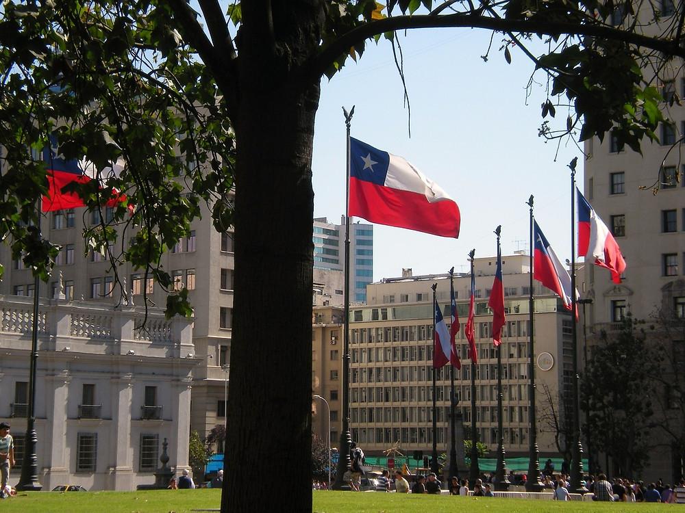 chilean flagg