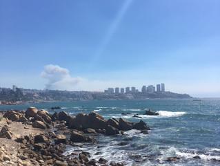 Fire in Valparaíso