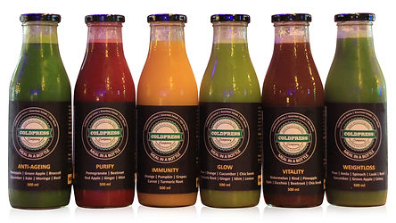 Cold Pressed Juices Detox Plan India