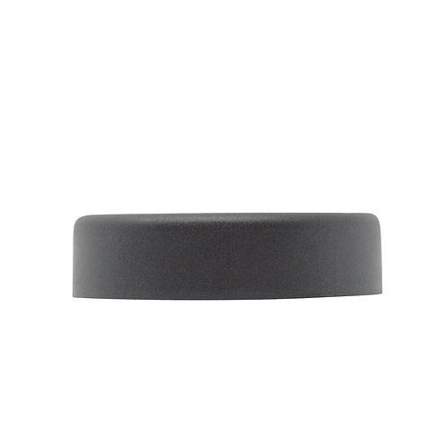 Black Smooth Child-resistant Lid with F217-LINER (for 4oz jars) (30/Pack)