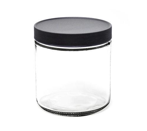 16 oz Glass Jar with Lid (96/Case)