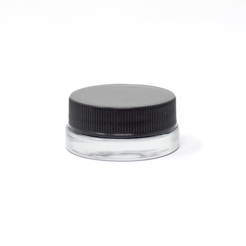 7 mL Glass Jar with Lid (450/Case)
