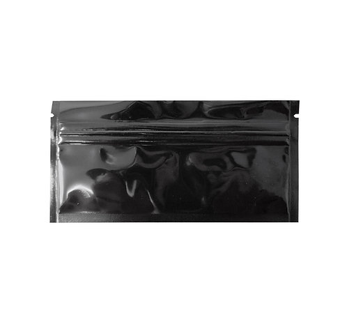 Black/Clear Gloss Preroll Bags (500/pack)