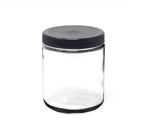 8 oz Glass Jar with Lid (96/Case)