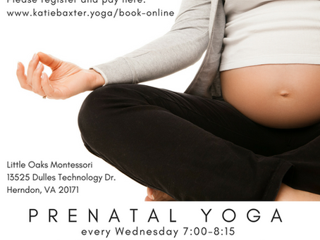 Prenatal Yoga in Herndon