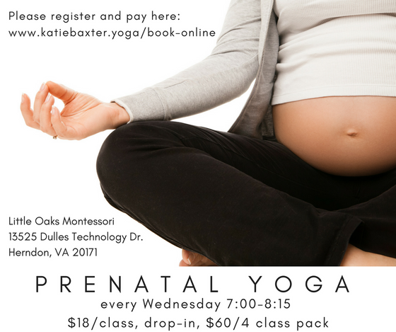 Prenatal Yoga in Herndon