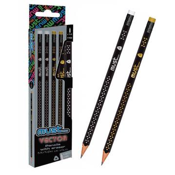 Grafitna olovka Must vector