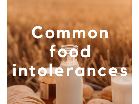 Common Food Intolerances