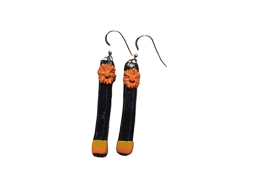 Spring Pinstripes Earwear